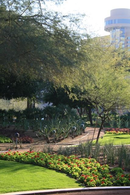 Park at the Arizona Center